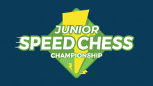 Junior Speed Chess Championship - Xiong vs. Gledura