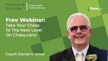 Free Webinar: Take Your Game To The Next Level With Coach Daniel!
