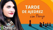 Tarde de ajedrez con Marga