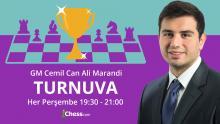 GM Cemil Can Ali Marandi Haftalık Ödüllü Yıldırım Turnuvasını Yorumluyor