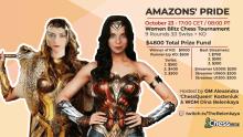 Amazon's Pride - Women's Blitz Chess Tournament