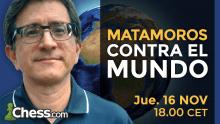 GM Carlos Matamoros contra EL MUNDO