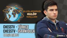 Uluslararası Kulüp Maçları: ChessTV Türkçe - ChessTV İspanyolca | GM Cemil Can Ali Marandi