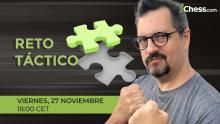 Reto Táctico de Ajedrez | Maestro Luisón