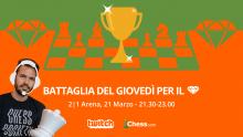 """Italiano 🇮🇹 - Torneo """"Battaglia del Giovedì per il 💎"""" con Romualdo Vitale!"""