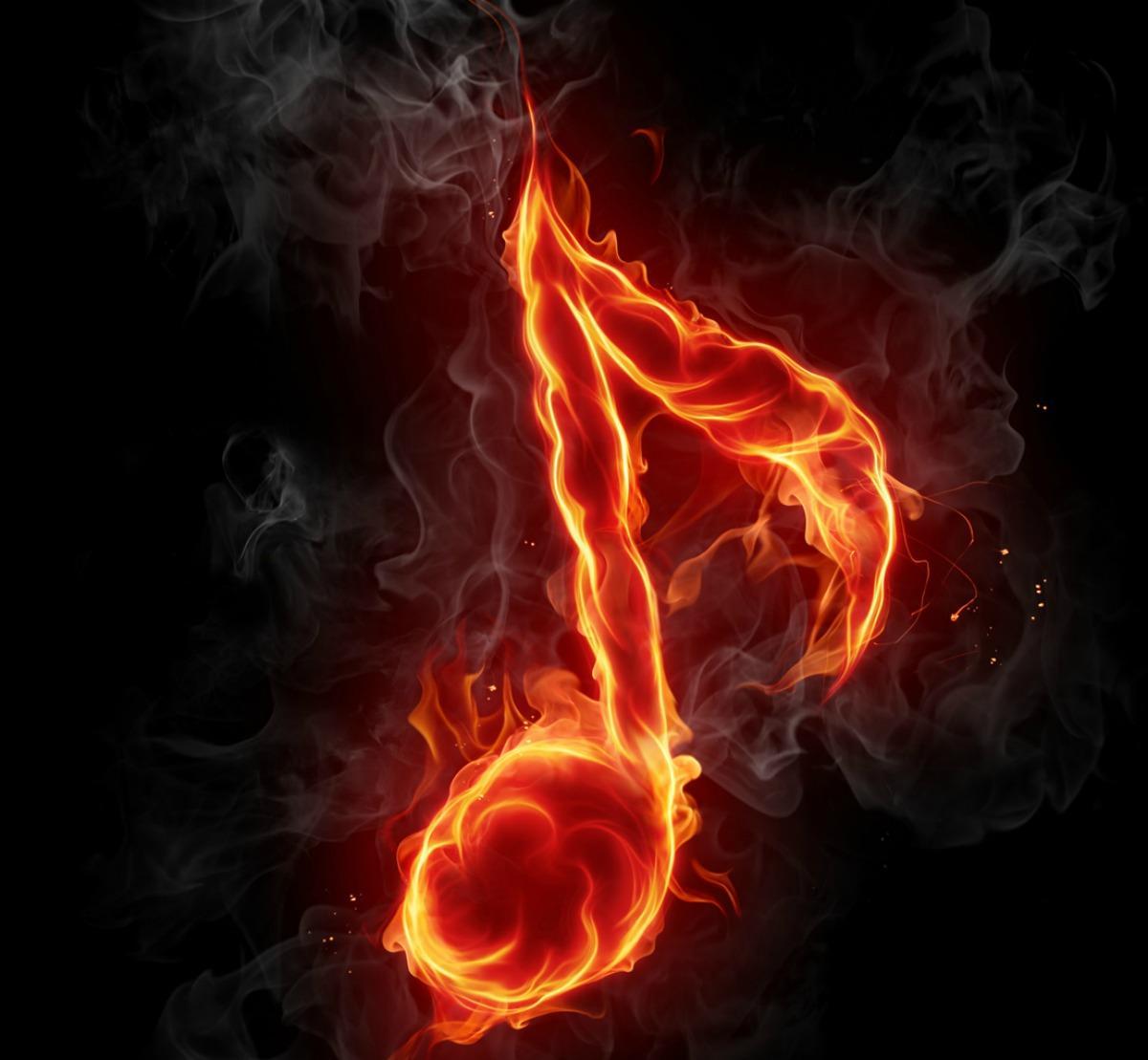 картинки скрипичный ключ в огне феррер