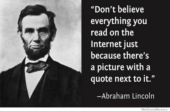 beliefs and teachings of abraham lincoln