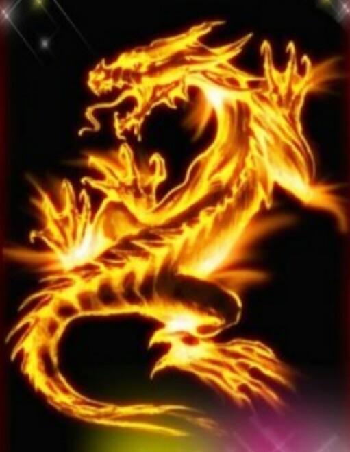 Огненный дракон картинка стима