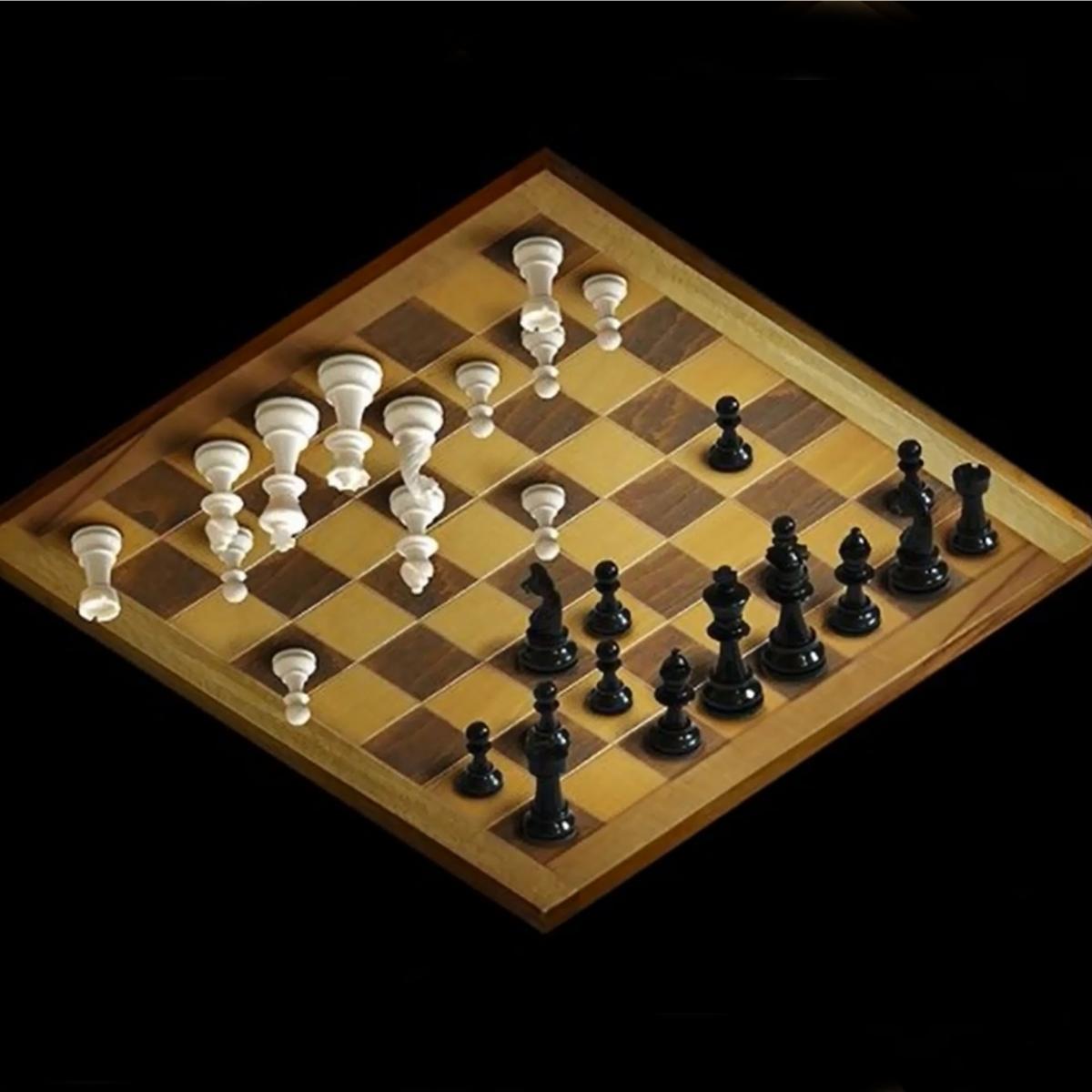 Смешные картинки в шахматах, стрельба пистолета поздравительная