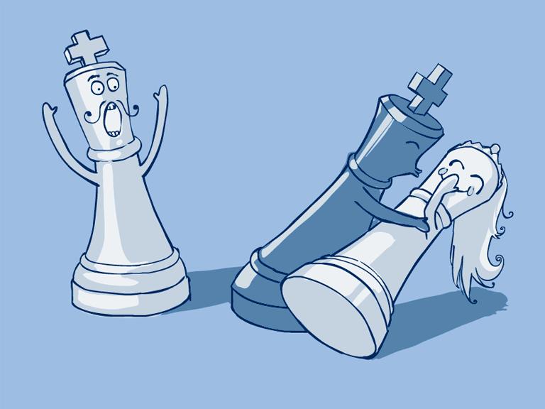 Веселые картинки шахматы, открытки германии картинка