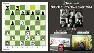 2014 Zürich Chess Challenge: Round 3 - Highlights