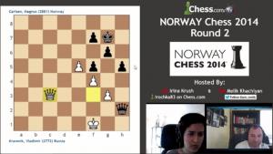 Norway Chess 2014: Round 2 – Highlights!