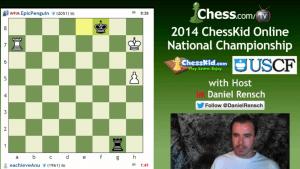 2014 ChessKid Online National Championship - Highlights