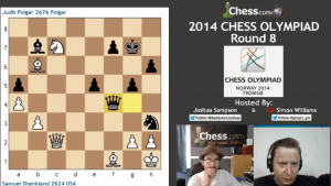 2014 Chess Olympiad: Round 8 -- Highlights