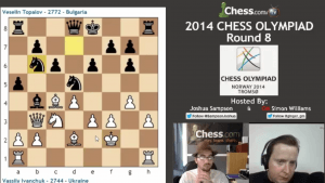 2014 Chess Olympiad: Round 8 -- Complete Show