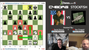 Cyborg vs Stockfish! The Complete Show's Thumbnail