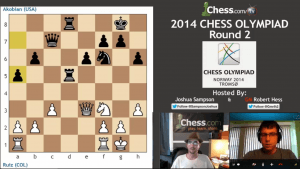 2014 Chess Olympiad: Round 2 -- Complete Show