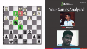 Your Games Analyzed With GM Panchanathan: 3-12-13