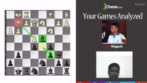 Your Games Analyzed With GM Panchanathan: 3-26-13