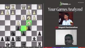 Your Games Analyzed With GM Panchanathan: 4-24-13