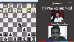 Your Games Analyzed With GM Panchanathan: 5-1-13
