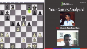 Your Games Analyzed With GM Panchanathan: 5-8-13