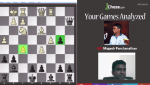 Your Games Analyzed With GM Panchanathan: 5-15-13