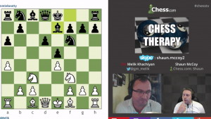 Chess Therapy: 12-14-15