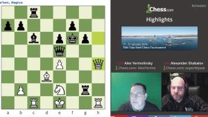 Highlights 78th Tata Steel Chess Tournament: 1-25-16