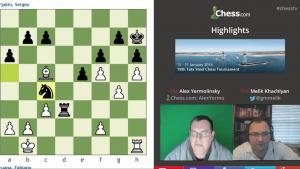Highlights 78th Tata Steel Chess Tournament: 1-28-16