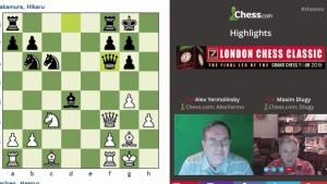 Highlights London Chess Classic: 12-13-15