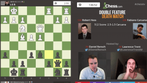 Death Match 36: GM Hess vs GM Caruana