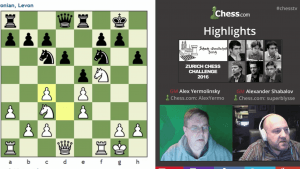 Highlights Zurich Chess Challenge Round 1 and 2: 02-13-16