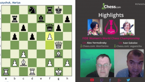 Highlights Women's World Chess Championship Games Round 1-6: 03-10-16