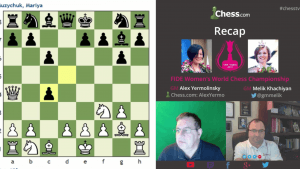 Recap Women's World Chess Championship Games: 03-18-16