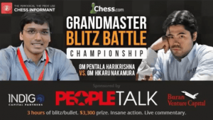 Grandmaster Blitz Battle 2: Harikrishna vs Nakamura