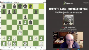 Man vs. Machine GM Benjamin vs. Komodo Round 3: 3-23-16's Thumbnail