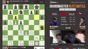 GM Blitz Battle Championship Grischuk contre Aronian