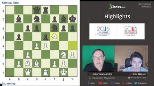 Highlights U.S. Chess Championships 2016 Round 1: 04-14-16