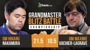 GMBBC Highlights: Nakamura vs Vachier-Lagrave