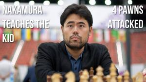 Nakamura Teaches The KID: 4 Pawns Attacked