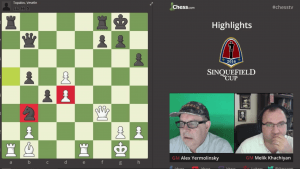 Sinquefield Cup Highlights Rounds 1-5: 08-10-16