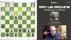 Man vs Machine: Joel Benjamin vs Komodo - Round 4's Thumbnail