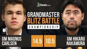 Grandmaster Blitz Battle: Final - Carlsen vs Nakamura
