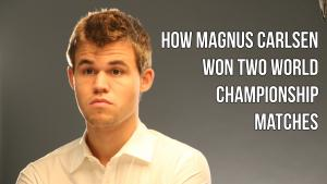 How Magnus Carlsen Won 2 World Championship Matches
