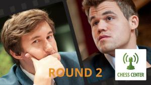 ChessCenter: Carlsen vs Karjakin World Championship Game 2