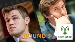 ChessCenter: Carlsen vs Karjakin World Championship Game 3