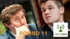 ChessCenter: Carlsen vs Karjakin World Championship Game 11