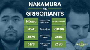 2017 Speed Chess Championship: Match 1 - Nakamura vs Grigoriants