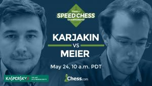 2017 Speed Chess Championship: Karjakin vs Meier